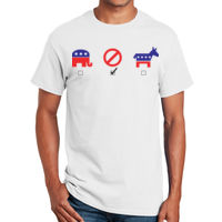 Political T-Shirt, Not Voting! T-Shirt Thumbnail