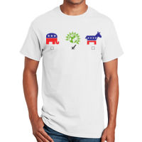 Political T-Shirt, Green Party T-Shirt Thumbnail